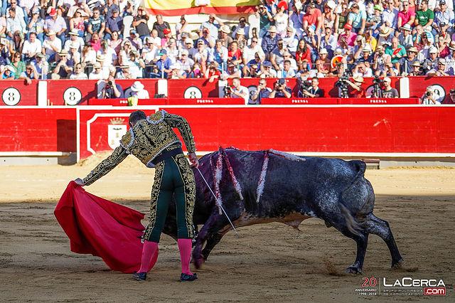 Fotos Feria Taurina - 16-09-18 - Andrés Palacios - Primer toro.