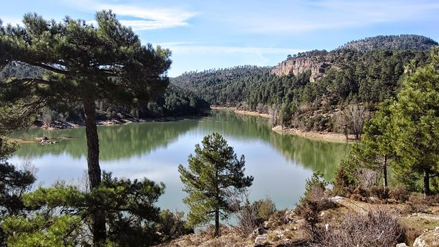 Embalse de La Toba - Cuenca. Fuente: https://dwarfcu.blogspot.com