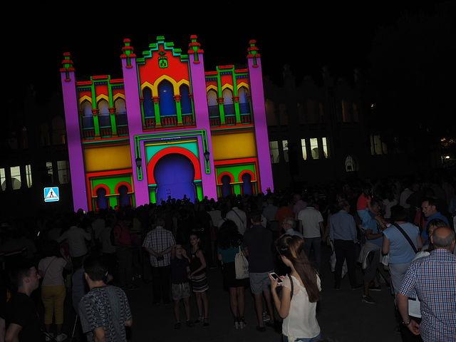 Video Mapping en la Plaza de Toros de Albacete - Feria de Albacete 2017