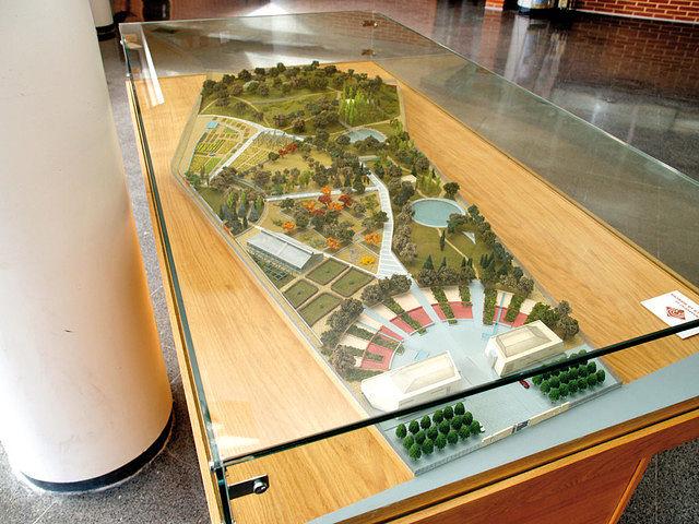 el jardín botánico de albacete es el único espacio natural de