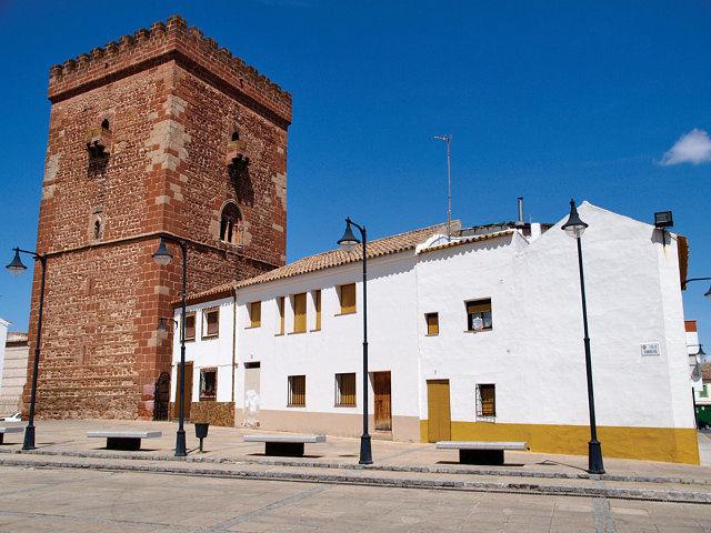 Torreón de don Juan de Austria, uno de los pocos monumentos que se conservan del antiguo Palacio del Gran Prior.
