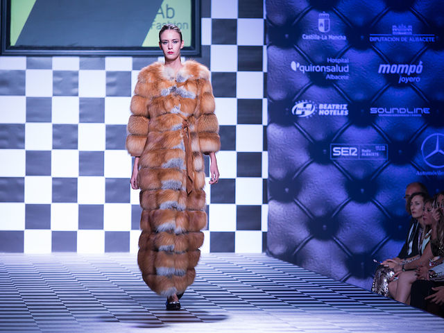 Desfile de Miguel Marinero en el III AB Fashion Day