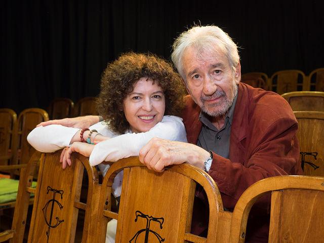 José Sacristán junto a su mujer Amparo Pascual
