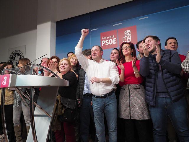 Emilio Sáez nuevo secretario general de la Agrupación Local PSOE Albacete