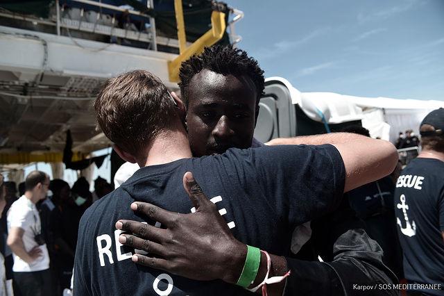 Refugiados Aquarius - Llegada Valencia - Foto Kenny Karpov SOS MEDITERRANEE