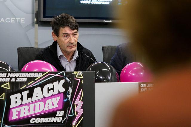 Luis Ramírez, vicepresidente de la Federación de Comercio de Albacete. Foto: Manuel Lozano García / La Cerca