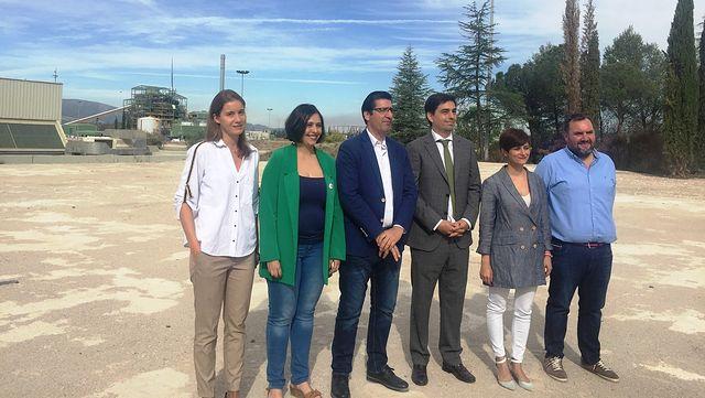José Manuel Caballero visita ENCE.