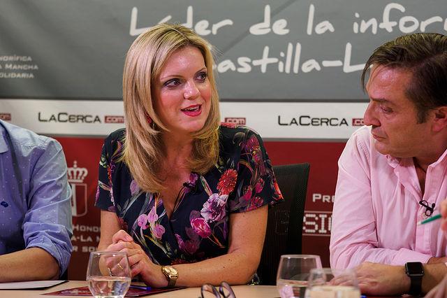 Genoveva Armero, presidenta de la Plaza de Toros de Albacete. Foto: Manuel Lozano Garcia / La Cerca
