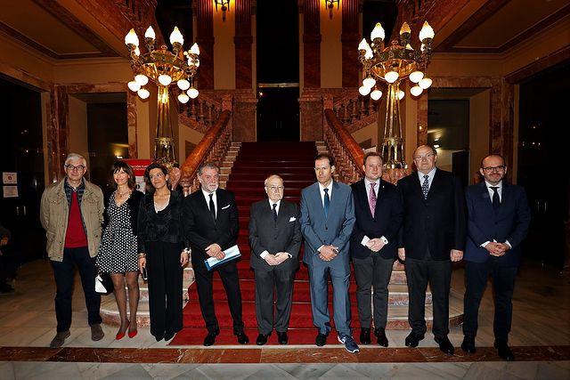 reconocimiento a Carlos Val-Carreres y Mariano de la Viña. Foto: Luis Vizcaino/foto@lamanchapress.com