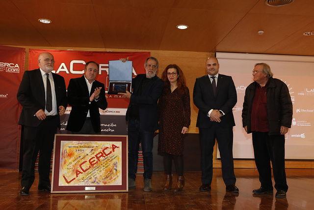 Gala de entrega de los XI Premios Solidarios del Grupo Multimedia de Comunicación La Cerca. Foto: Luis Vizcaino