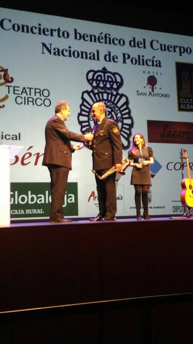 VII Concierto Solidario organizado por la Comisaría del Cuerpo Nacional de Policía de Albacete a beneficio de Cáritas Diocesana.