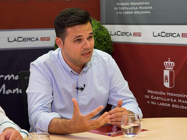 Miguel Zamora, alcalde de Tarazona de la Mancha