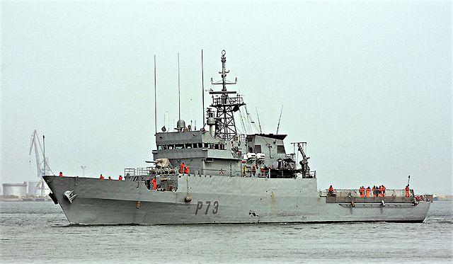 Buque patrullero de la Armada Española 'Vigía'. Agencias.