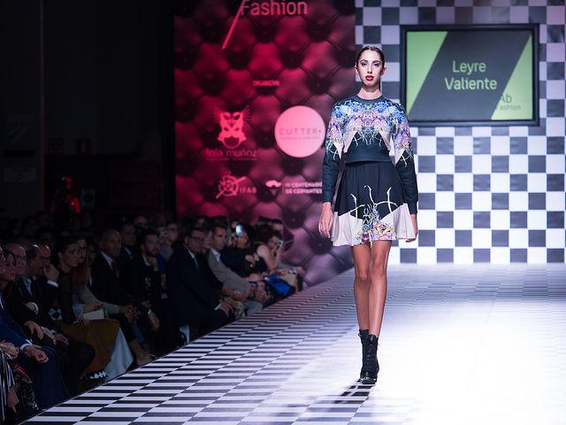 Desfile de Leyre Valiente en el III AB Fashion Day