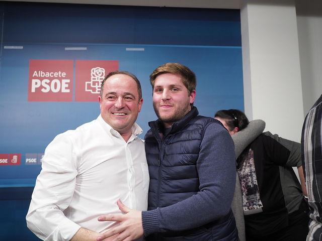 Emilio Sáez, nuevo secretario general de la Agrupación Local PSOE Albacete