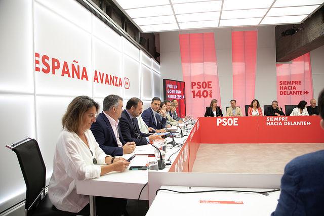 Reunión de la Comisión Ejecutiva Federal. Foto: EVA ERCOLANESE