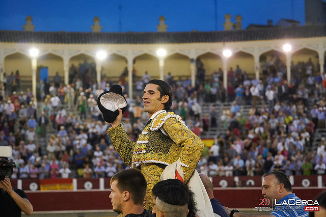 Fotos Feria Taurina - 17-09-18 - Alejandro Talavante - Puerta grande en Albacete.