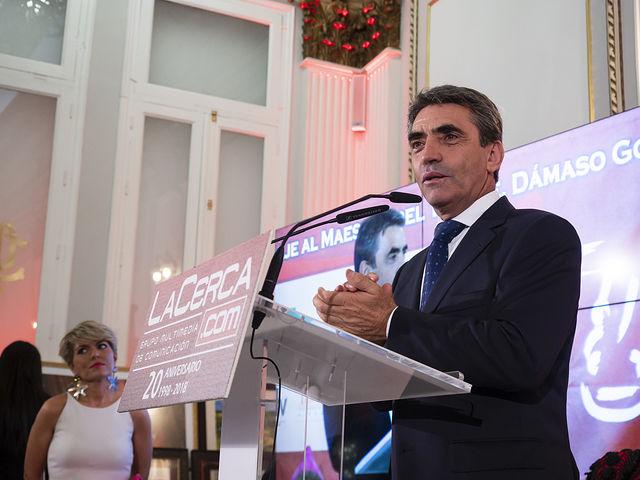Gala de entrega de los XII Premios Taurinos Samueles organizados por el Grupo Multimedia de Comunicación La Cerca