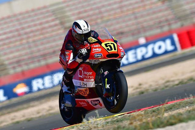 Edgar Pons pole Moto2 FOTO SOTOCA