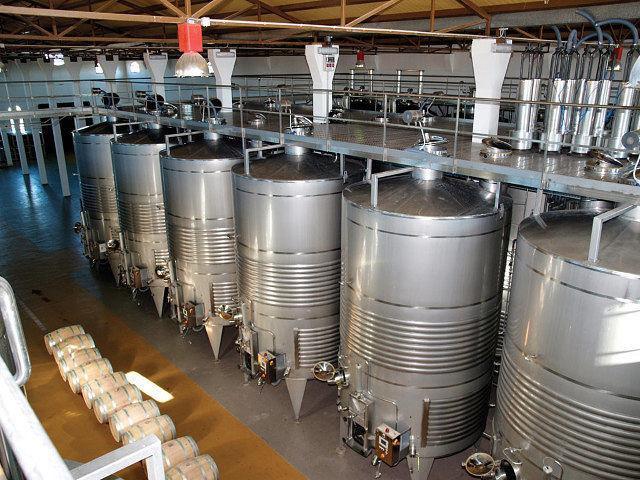 Los Aljibes dispone de una infraestructura de vanguardia en materia vitivinícola.