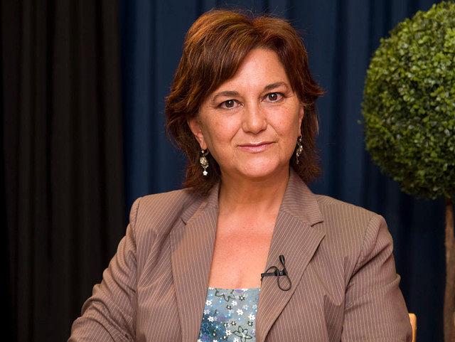 Matilde Valentín, presidenta provincial del PSOE albaceteño.