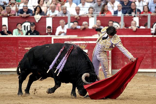 Sebastián Castella - Feria Taurina de Albacete.  Foto: María Vázquez.