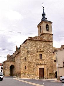 Iglesia Parroquial de Santa María de la Asunción, en Lezuza (Albacete).