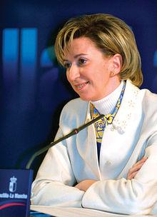María Luisa Araujo, consejera de Economía y Hacienda de la JCCM.