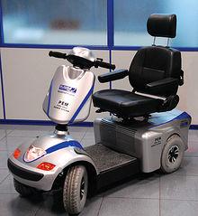 Proyecto Scooter desarrollado por la empresa albaceteña AJUSA, alimentado mediante pilas de combustible.