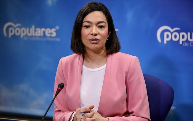 Claudia Alonso, portavoz del PP-CLM. .