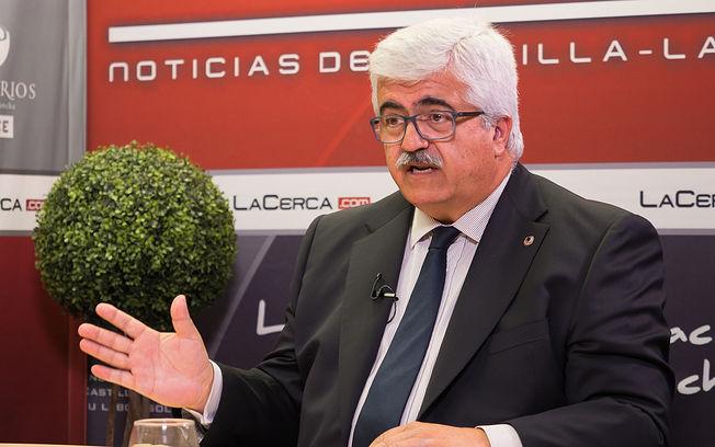Eloy Molina, presidente de la Federación de Deportes para Personas con discapacidad intelectual de Castilla-La Mancha (FECAM)