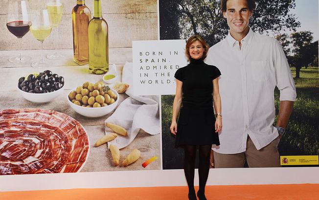 """Isabel García Tejerina: """"Rafa Nadal es, sin ninguna duda, la mejor imagen de nuestra mejor España"""". Foto: Ministerio de Agricultura, Alimentación y Medio Ambiente"""