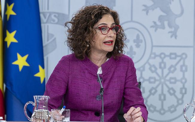 María Jesús Montero, ministra de Hacienda y portavoz del Gobierno.  Pool Moncloa/Borja Puig de la Bellacasa