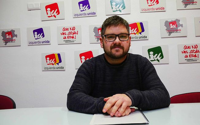 Cristian Ibáñez, coordinador provincial de Izquierda Unida Albacete