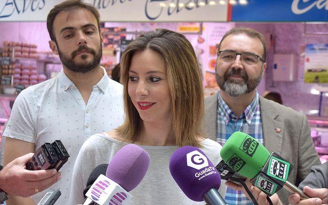 Lucía de Luz, Manuel Granado y Víctor Cabeza.