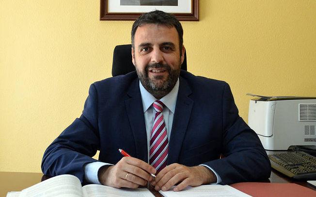 José Luis Blanco, alcalde de Azuqueca de Henares. Fotografía: Álvaro Díaz Villamil / Ayuntamiento de Azuqueca