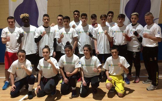Foto Oficial de la Selección Española de Boxeo.