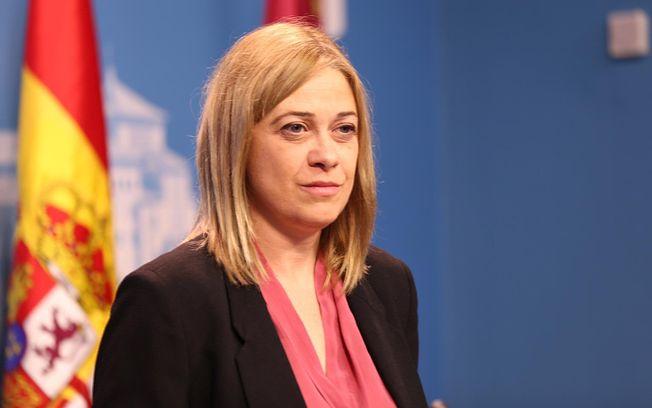 Carmen Picazo, portavoz del Grupo Parlamentario de Ciudadanos en las Cortesde Castilla -La Mancha.