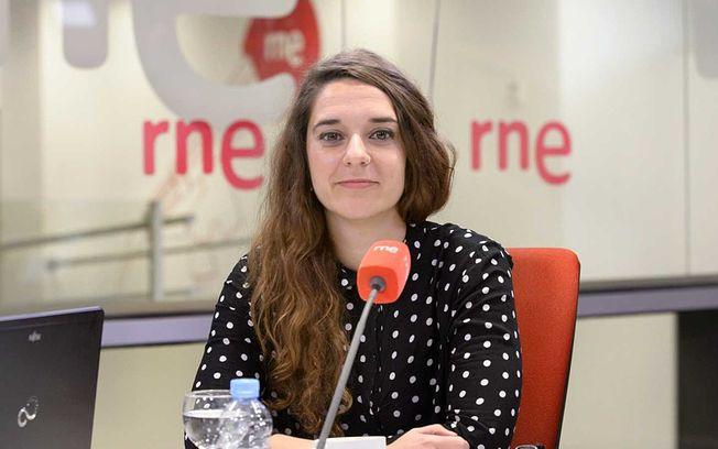 Noelia Vera, coportavoz de la Ejecutiva de Podemos.