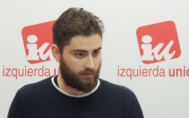 Daniel Velasco, responsable del Área de Juventud de IU CLM.