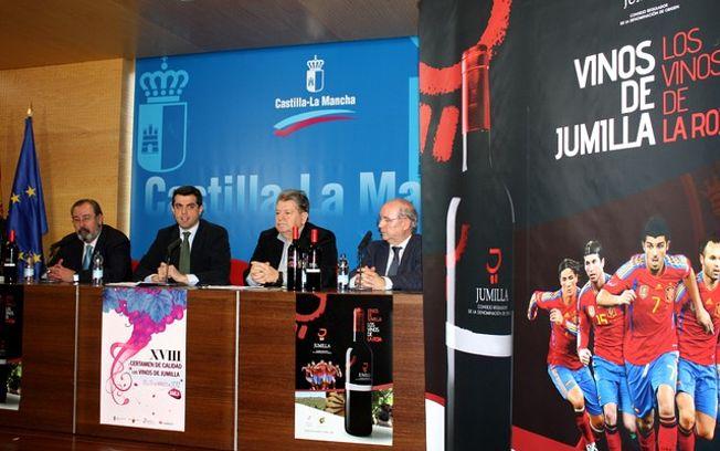 Presentación de la XVIII Edición del Certamen de Calidad de los Vinos de Jumilla.