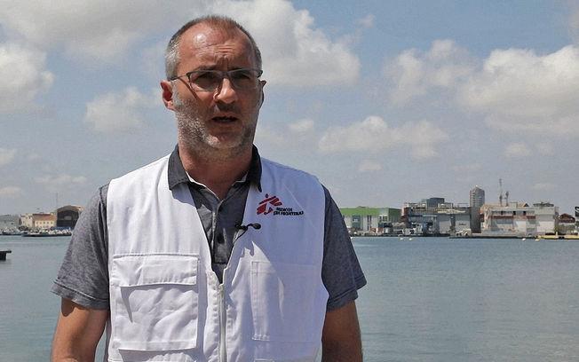 David Noguera - Presidente Médicos Sin Fronteras