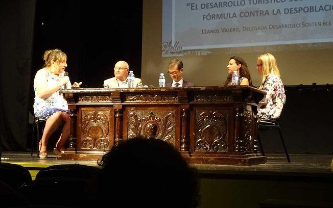 I Jornadas Turísticas Ciudades Ancla celebradas en Hellín. FOTOS: Iván Giménez.