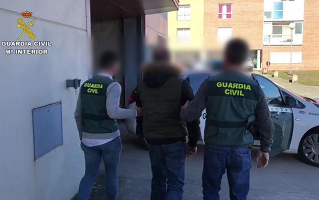 Operación ELESTA. Foto: Guardia Civil.