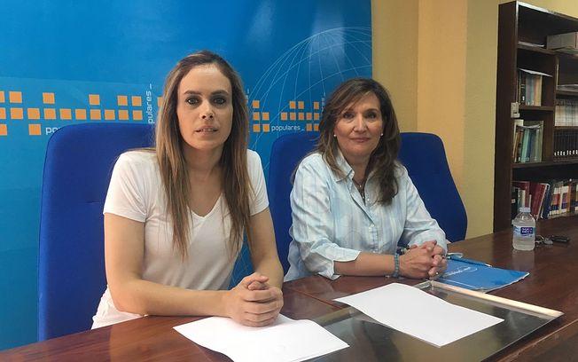 Rosario Rodríguez y Ana Hernán.