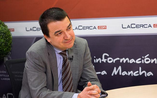 Francisco Martínez Arroyo, consejero de Agricultura, Medio Ambiente y Desarrollo Rural.