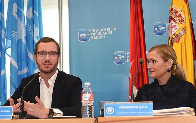 Javier Maroto se reúne con Cristina Cifuentes y con el Grupo Popular de la Asamblea de Madrid