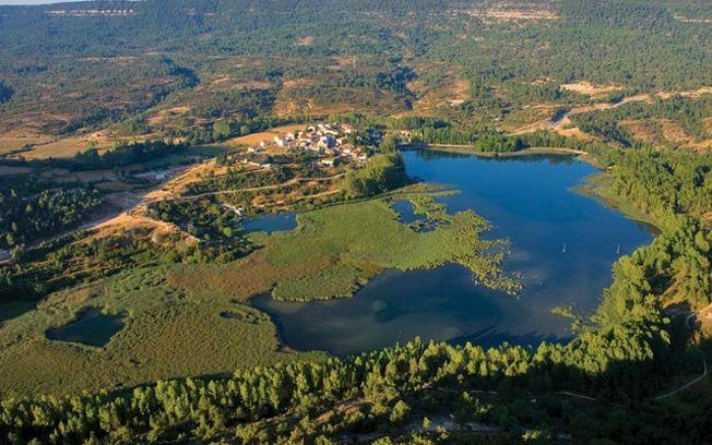 Laguna de Uña, en la provincia de Cuenca.