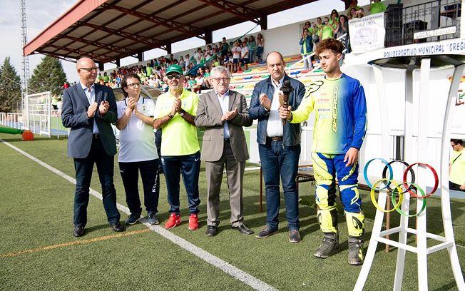 XXIII Olimpiada Escolar de La Mancha, celebrada en el Polideportivo Municipal de Santa Cruz de la Zaraza (Toledo)