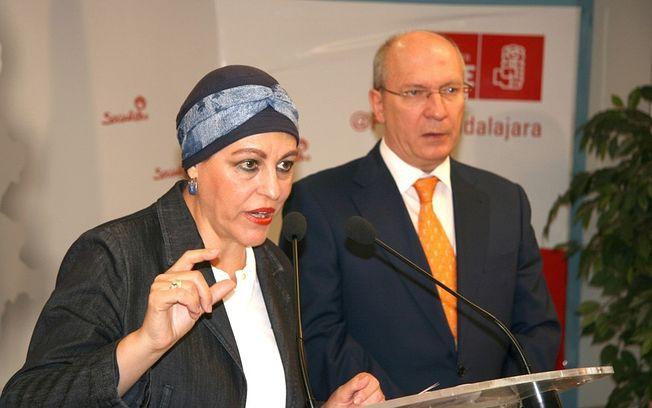 Magdalena Valerio y Jesús Alique